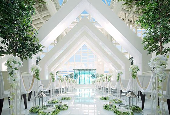 結婚式場内部の写真